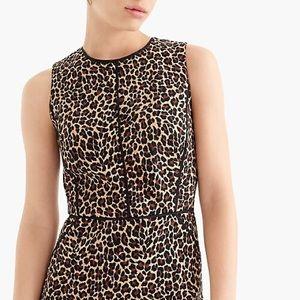 J.Crew Leopard Print Dress Size 16